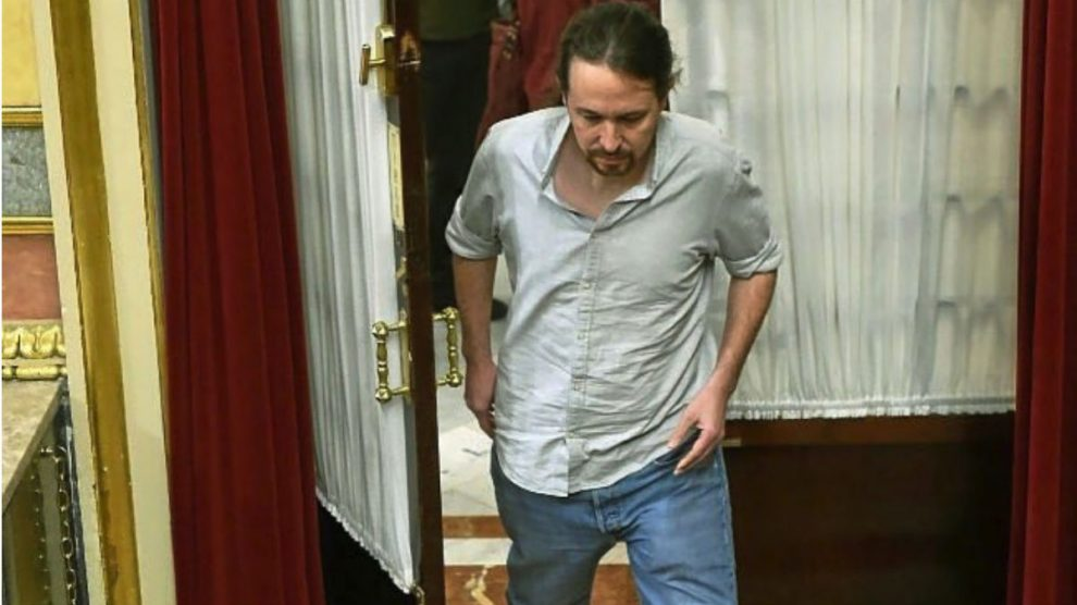 Pablo Iglesias en el Congreso (RRSS).