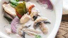 Receta de sopa tom kha kai