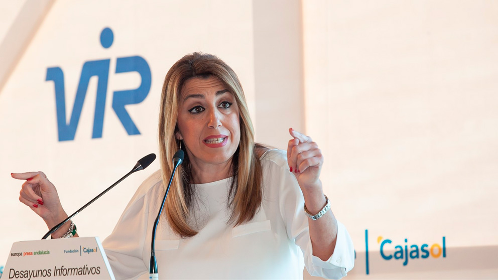 Susana Díaz, secretaria general del PSOE-A (Europa Press).