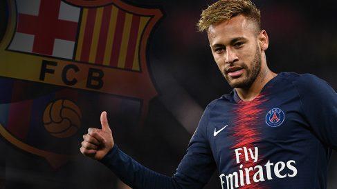 El Barcelona sólo podría fichar a Neymar gratis.