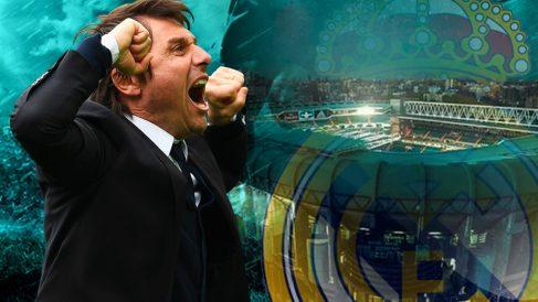 Antonio Conte está loco loco por entrenar al Real Madrid.