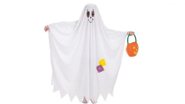 disfraz de fantasma casero
