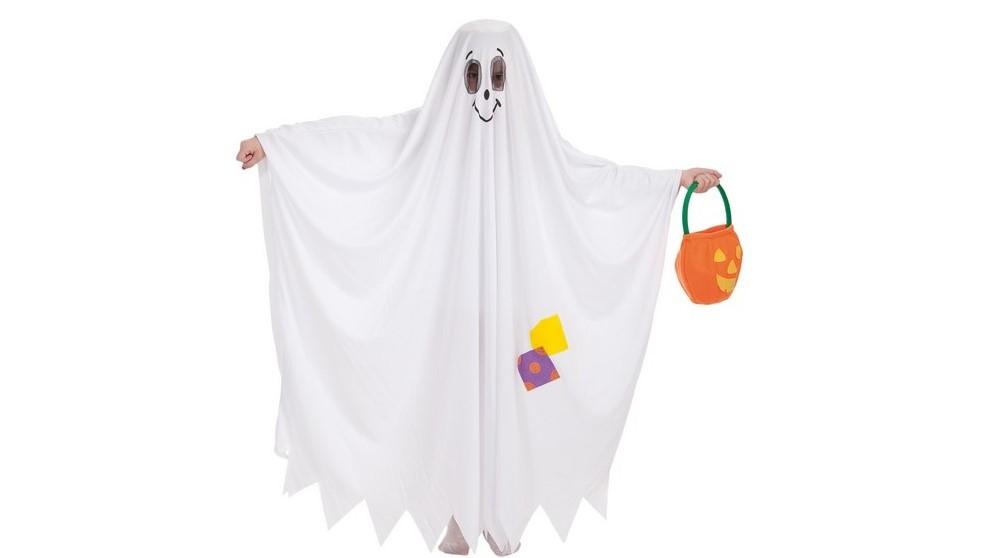 Un disfraz de fantasma es ideal para disfrutar de Halloween