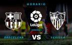 Barcelona – Sevilla: Hora y dónde ver el partido de La Liga Santander