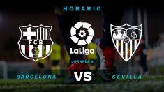 Liga Santander 2018: Barcelona – Sevilla   Horario del partido de fútbol de la Liga Santander.