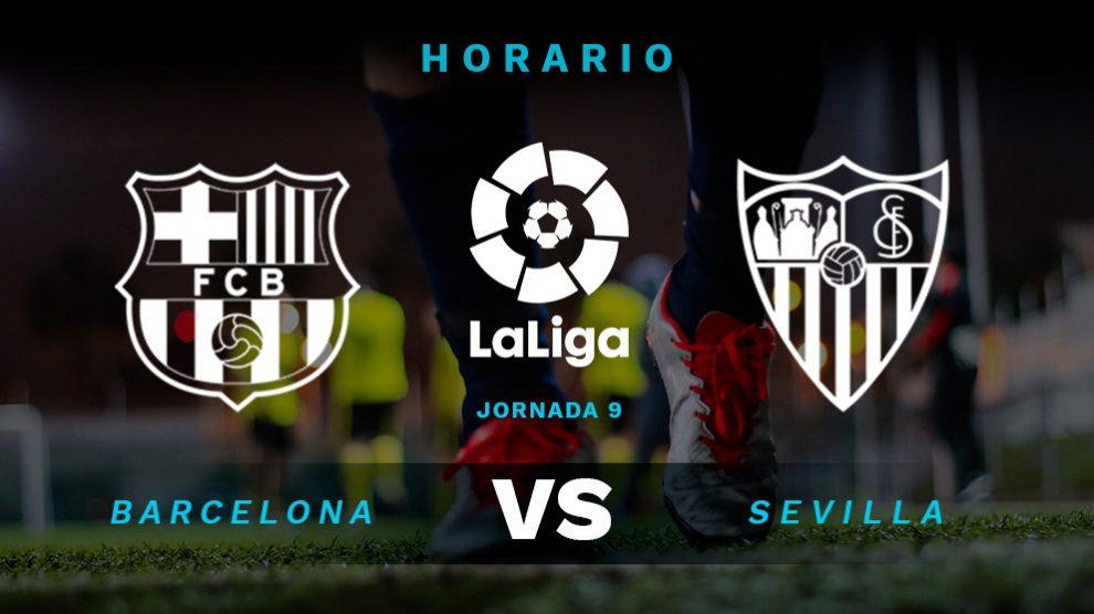 Liga Santander 2018: Barcelona – Sevilla | Horario del partido de fútbol de la Liga Santander.