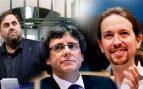 Iglesias ofrecerá a Junqueras un tándem Podemos-ERC en Cataluña que arrincone a Puigdemont