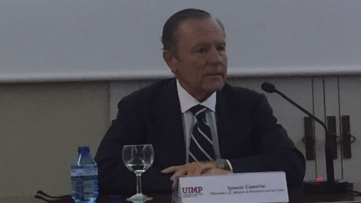 Ignacio Camuñas, ex ministro de UCD y fundador de 'España Siempre'