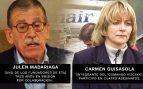 Los exetarras Julen Madariaga y Carmen Guisasola. (Foto: EiTB/Ministerio del Interior)