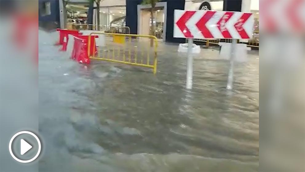 Inundaciones en Silla (Valencia).