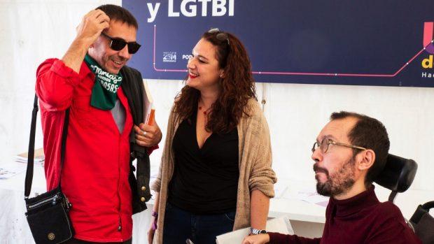 """Los discapacitados de Podemos estallan contra Echenique: """"Representa los ideales estalinistas"""""""