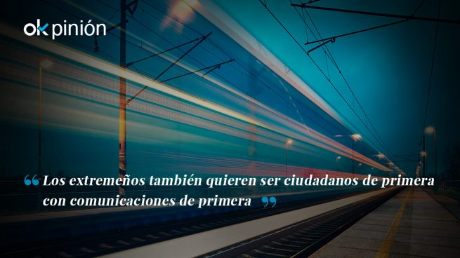 Por un tren digno para Extremadura