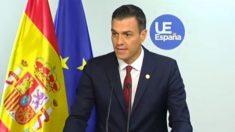 Pedro Sánchez en Bruselas.