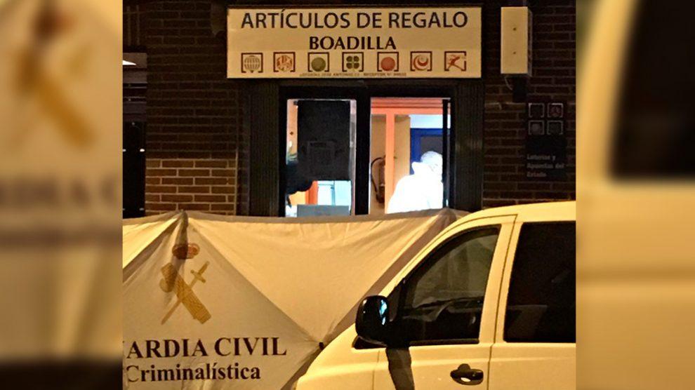 Administración de lotería en Boadilla del Monte (Madrid)
