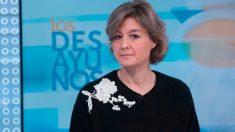Isabel García Tejerina durante su entrevista en Los Desayunos de TVE.