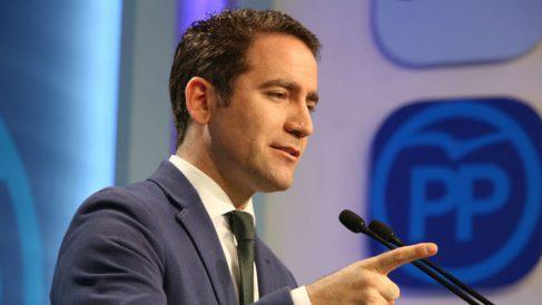 El secretario general del PP Teodoro García Egea (Ricardo Rubio, EP)