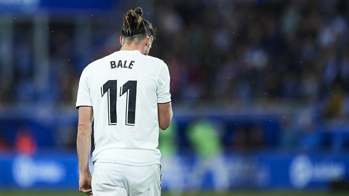 Estado de preocupación en el Real Madrid por Gareth Bale, que llega tocado al Levante (Getty).