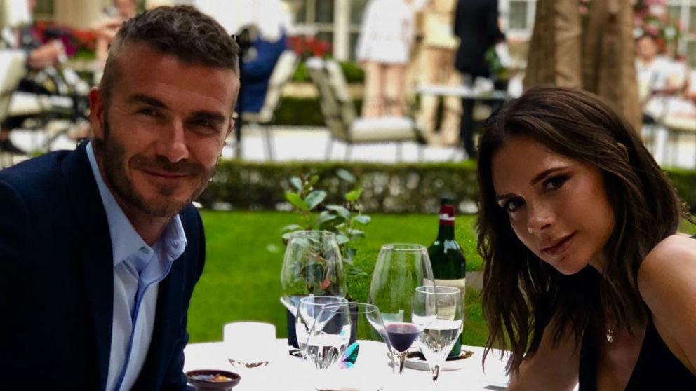 David y Victoria Beckham. (@davidbeckham)