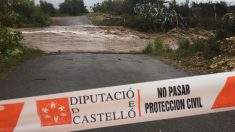 Dos rescatados por el temporal en Castellón (Bomberos de Castellón).