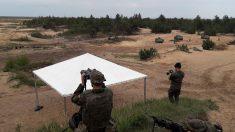 Maniobras del Ejército de Tierra. (Foto: Europapress)