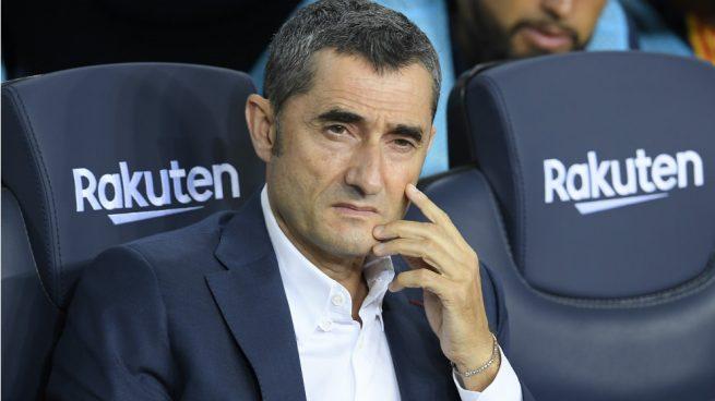 Barcelona: Valverde admite que la situación de Arturo Vidal es un problema