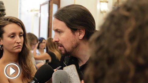 Pablo Iglesias, Congreso de los Diputados. (Foto: Francisco Toledo)