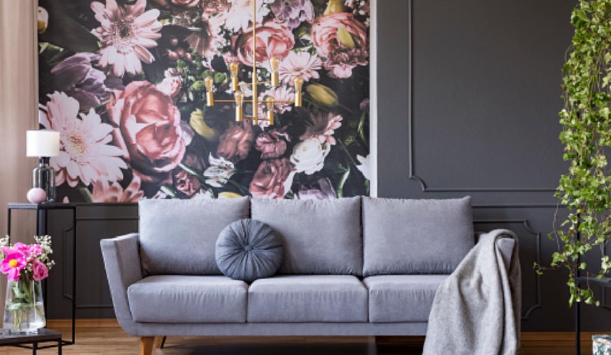 Pasos para pintar flores sencillas en la pared