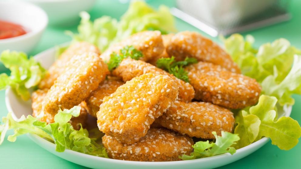 Receta de nuggets veganos de tofu