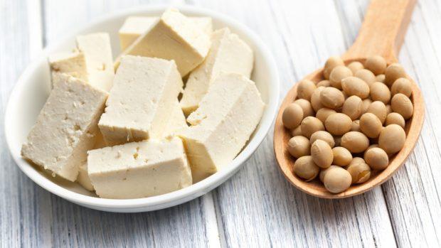 nuggets veganos de tofu