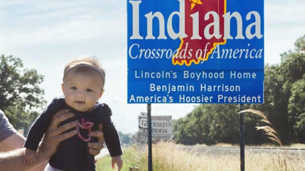 Una niña de 5 meses, la bebé más viajera. Descúbrela