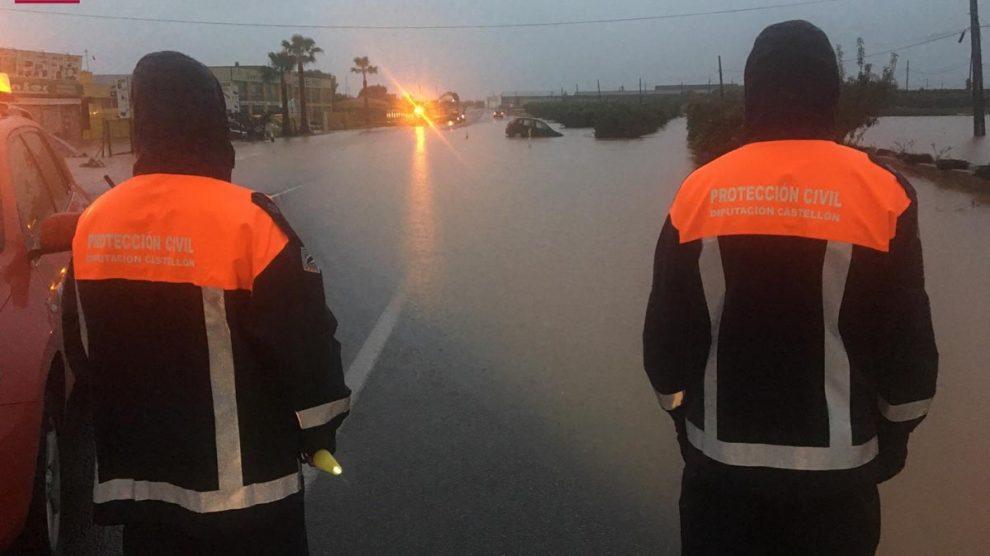 Servicios de emergencias en Vinaroz. Foto: Europapress
