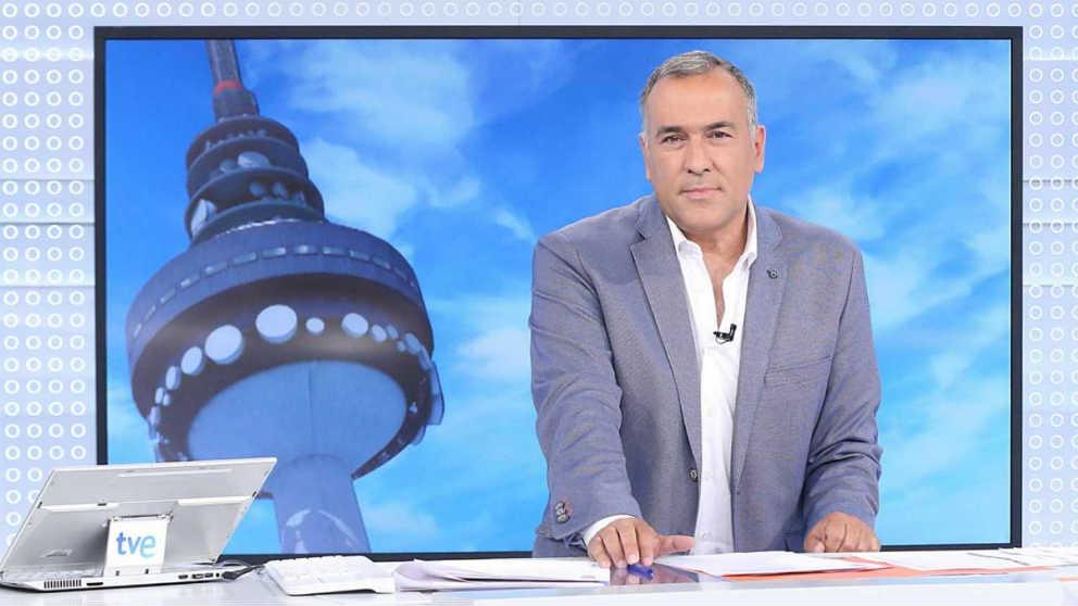 El presentador de TVE, Xabier Fortes