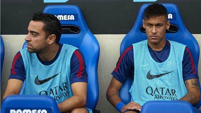 Xavi respalda a Messi tras las críticas de Maradona