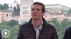 Pablo Casado este sábado en Andalucía.