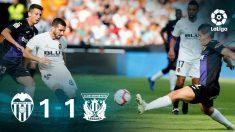 Liga Santander 2018: Valencia – Leganés | Partido de fútbol hoy, en directo.