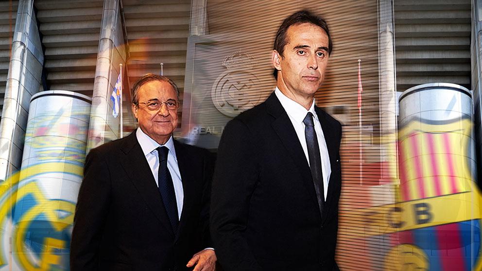Florentino Pérez y Lopetegui.