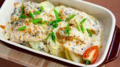 Receta de milhojas de patata