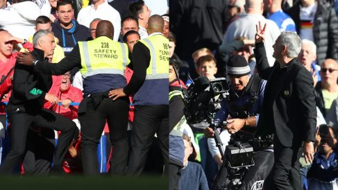 El show de José Mourinho en el Chelsea – Manchester United.