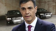 Pedro Sánchez utiliza el mismo Audi A8 que estrenó Rajoy en 2017.