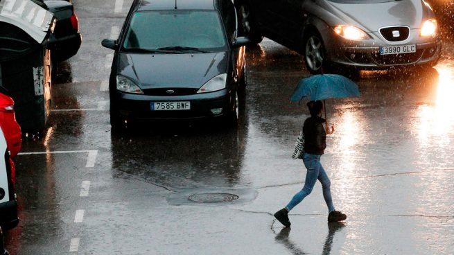 La semana entra con lluvias en el norte y una caída de las temperaturas en la Península y Baleares