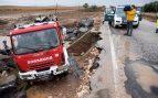Felipe VI traslada a Susana Díaz su pésame por el fallecimiento de un bombero en Málaga