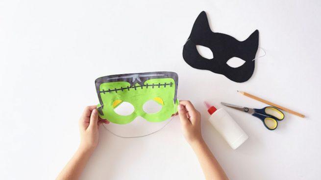 hacer mascara para halloween
