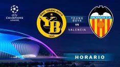Young Boys- Valencia: partido de la Champions League.