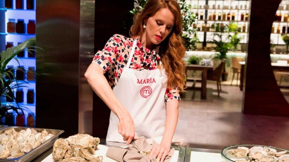 María Castro, última expulsada de 'MasterChef Celebrity'. (Foto: RTVE)