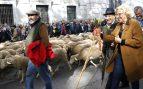 Un millar y medio de ovejas llegan a Madrid en la Fiesta de la Trashumancia
