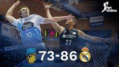 El Real Madrid gana a Obradoiro. (EFE)