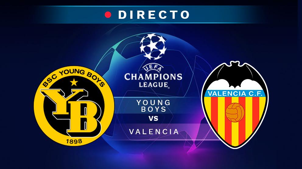 Champions League 2018-2019: Young Boys – Valencia | Partido de fútbol hoy, en directo.