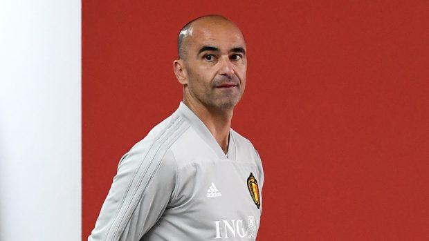 Roberto Martínez, en una imagen de archivo (AFP).