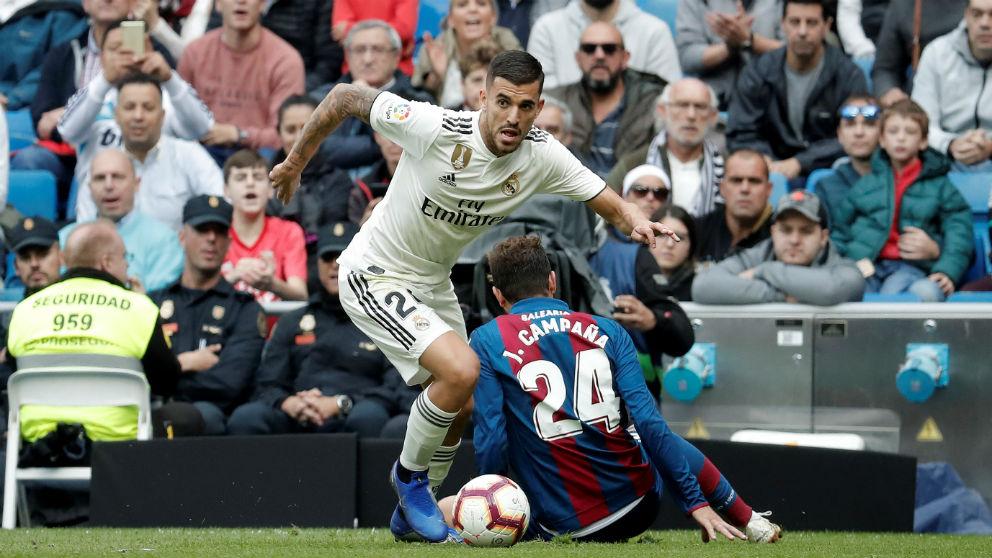 Dani Ceballos en el Real Madrid – Levante. (Getty)