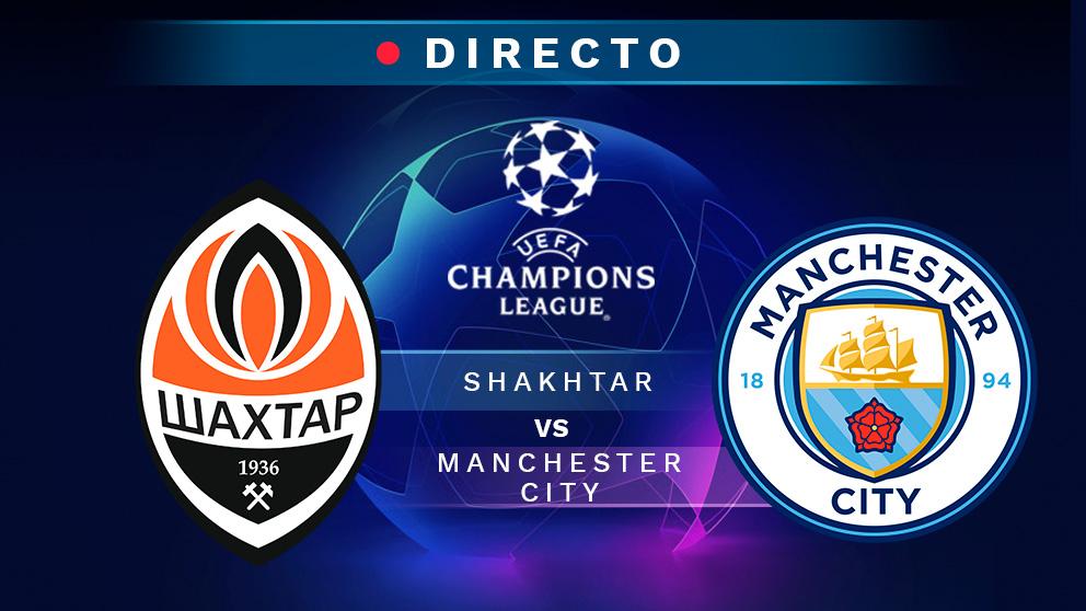 Shakhtar Donetsk Manchester City Partido De La